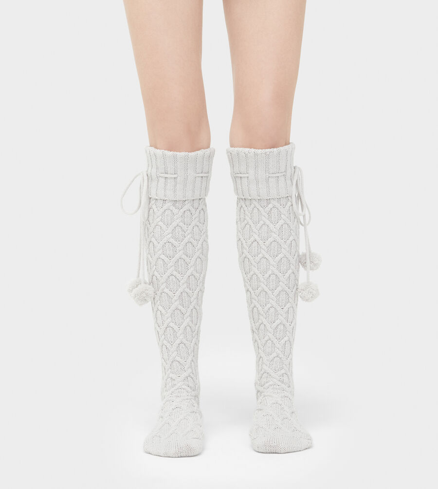 Sparkle Cable Knit Sock - Image 1 of 2