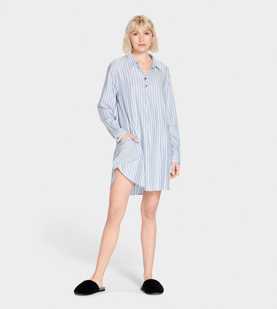 Gabri Stripe Sleep Dress - Image 5 of 5