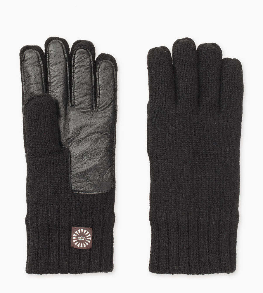Knit Glove With Smart Leather Palm - Image 2 of 3