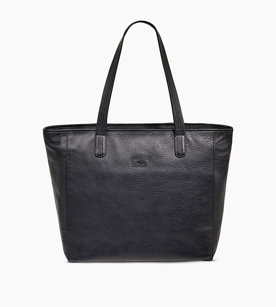 Alina Leather Tote - Image 1 of 5