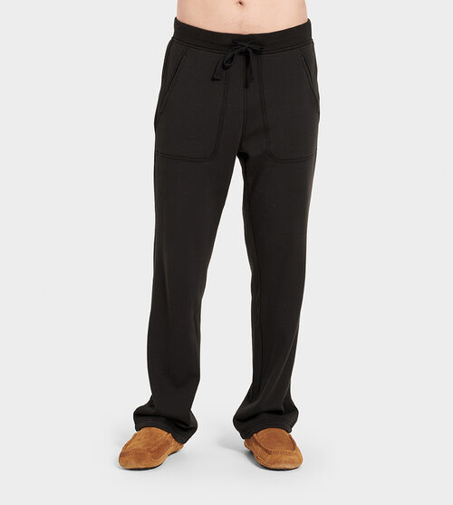UGG Men's Gifford Cotton Blend In Black, Size L A lightweight feel and relaxed fit make this fleece-lined pant a favorite of frequent fliers and weekend warriors. UGG Men's Gifford Cotton Blend In Black, Size L