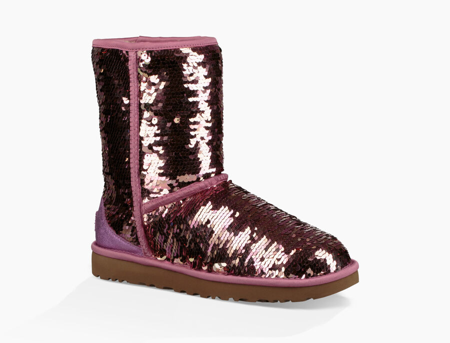 Classic Short Sequin Boot - Image 2 of 8