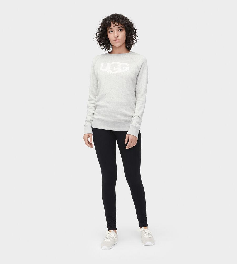 Fuzzy Logo Sweatshirt - Image 5 of 5
