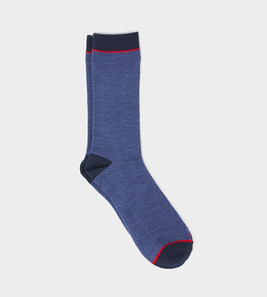 Ezren Herringbone Crew Sock - Image 3 of 3