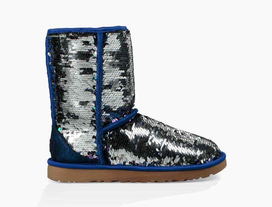 Classic Short Sequin Boot - Image 3 of 8