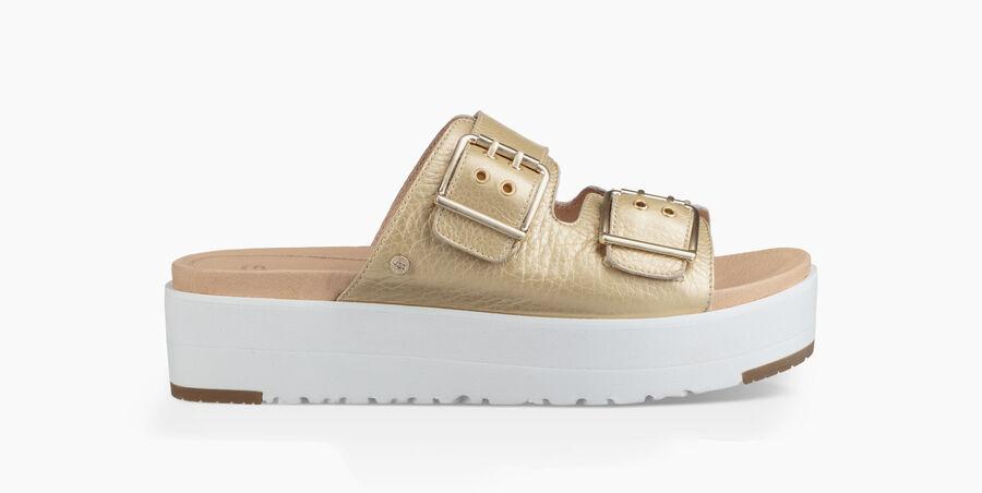 Cammie Metallic Sandal - Image 1 of 6