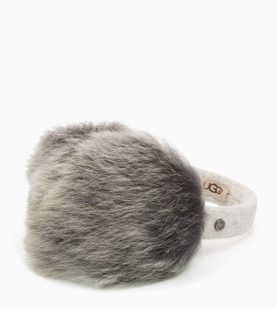 Wired Luxe Earmuff with Toscana Fur - Image 1 of 3