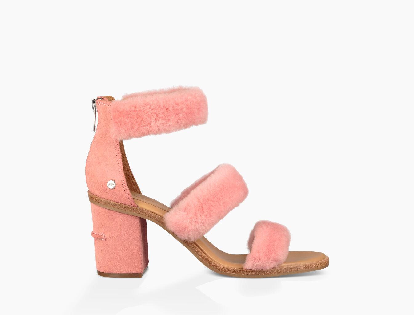 UGG® Del Rey Fluff Block Heels p983VY5h