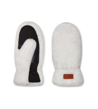 All Over Faux Fur Mitten Alternative View