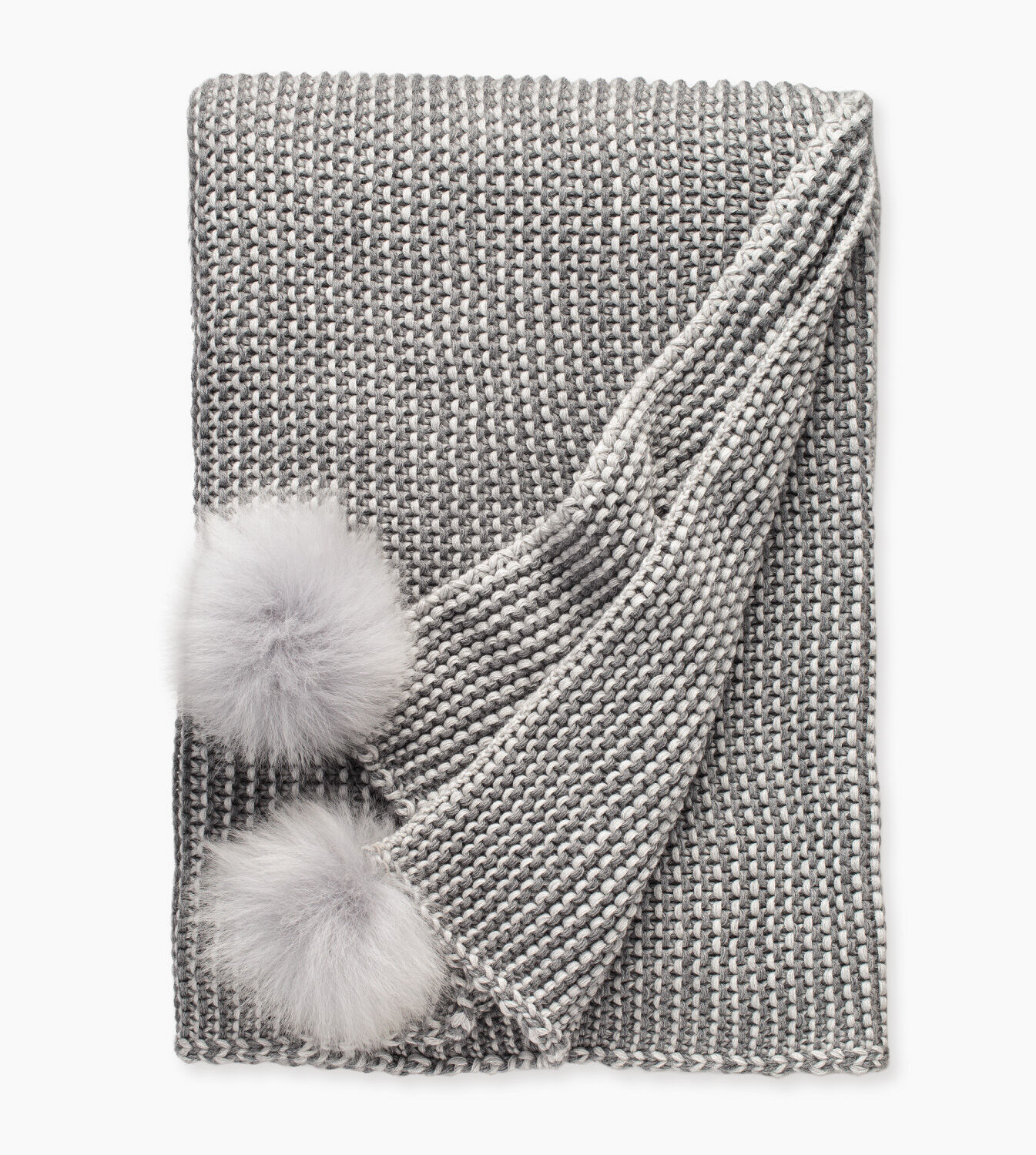 Snow Creek Two Color Throw