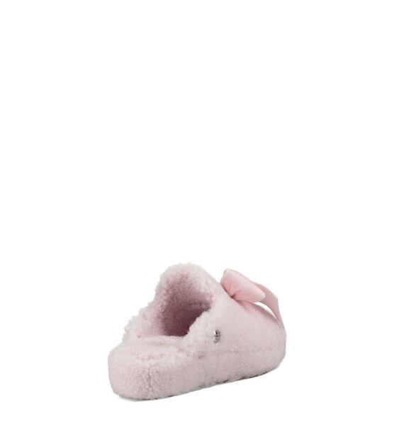 Addison Velvet Bow Slipper