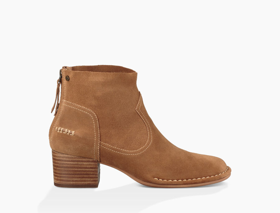 Bandara Ankle Boot Suede - Image 1 of 6
