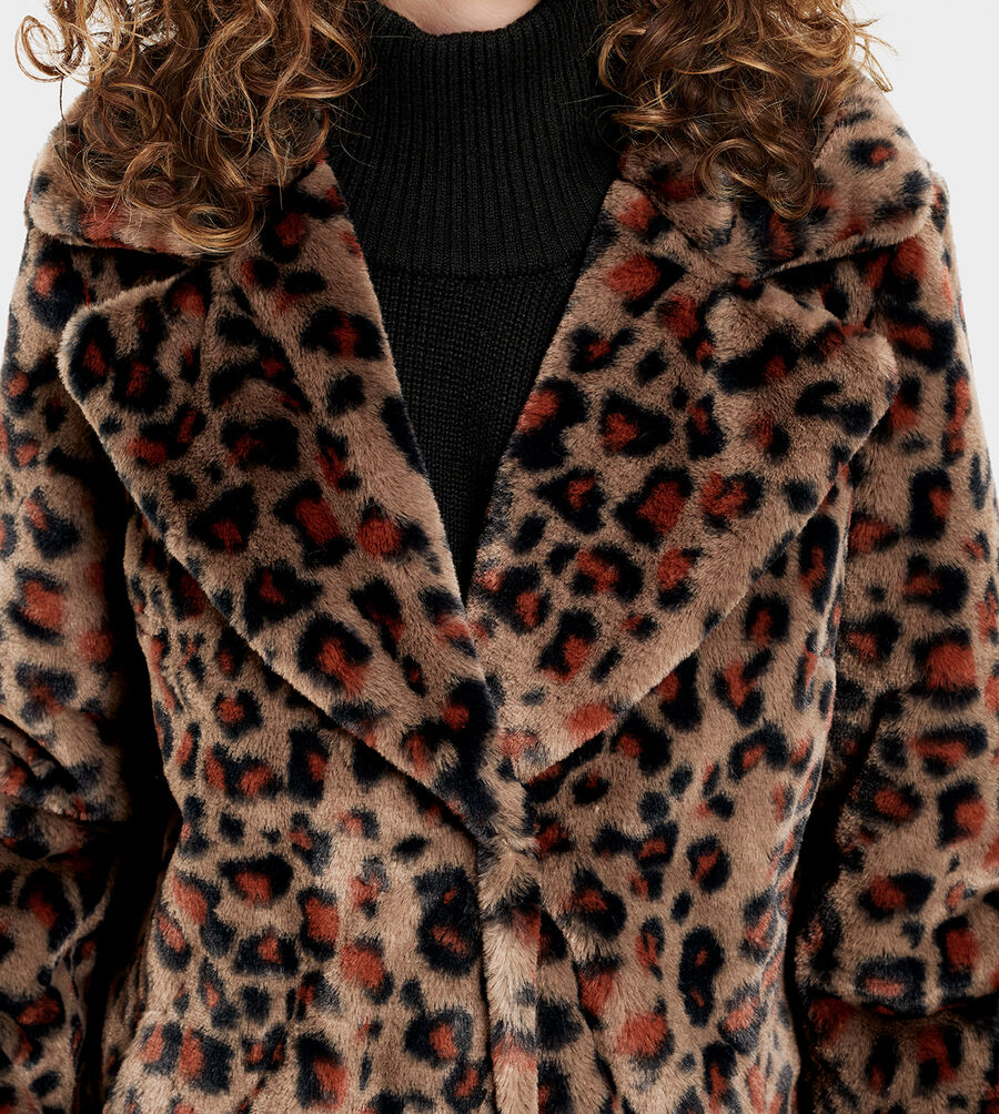 Rosemary Faux Fur Jacket - Image 5 of 6