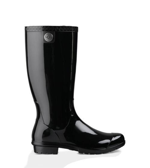 UGG Shaye Rain Boot Women's in Black Size 8