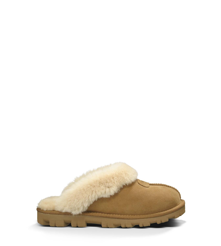 アグ レディースシューズ COQUETTE - UGG® Official Women's Coquette Sheepskin Slippers UGG.com Chestnut, 22.0