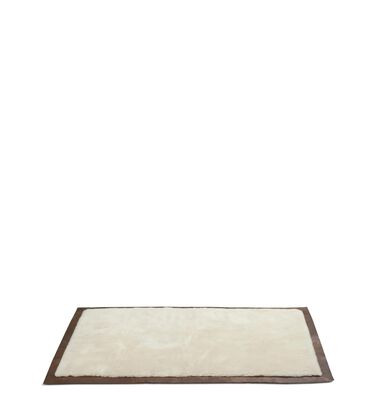 CLASSIC LEATHER BOUND RUG 5x7