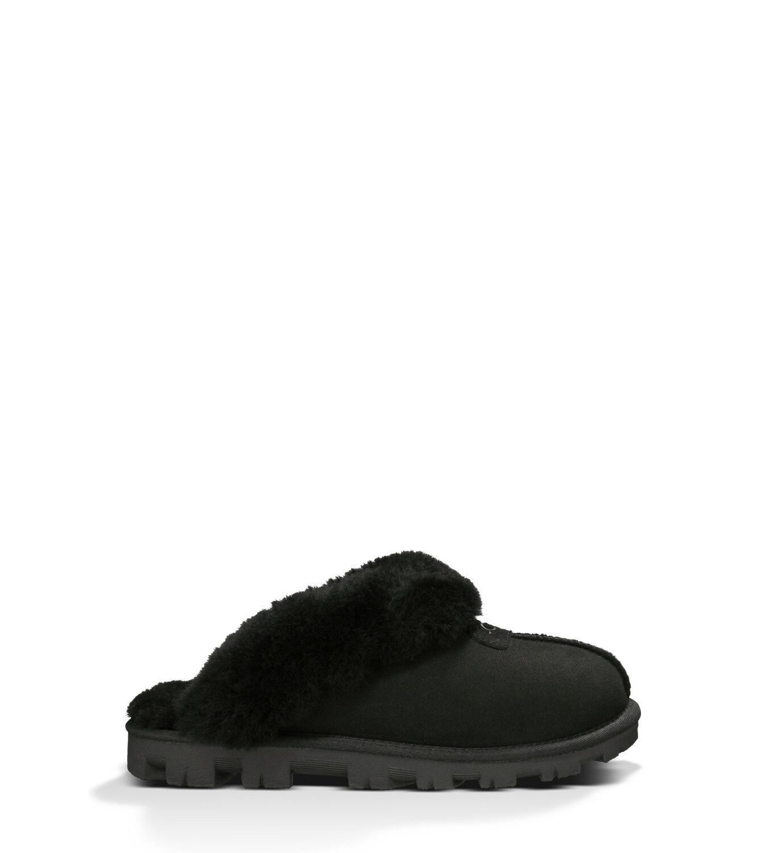 アグ レディースシューズ COQUETTE - UGG® Official Women's Coquette Sheepskin Slippers UGG.com Black, 22.0