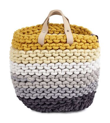 RAINBOW ROPE NESTING BASKETS MEDIUM