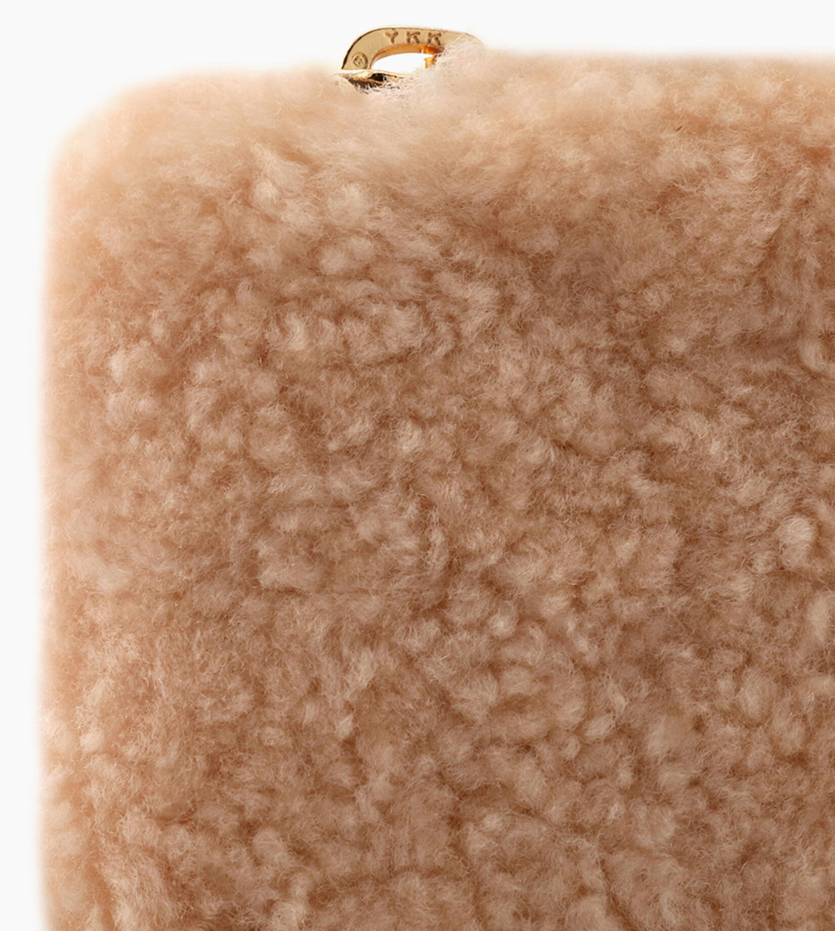 SMALL ZIP POUCH SHEEPSKIN