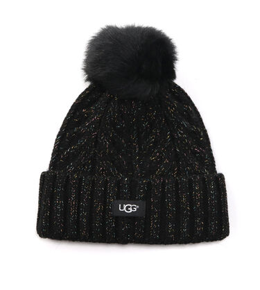 CABLE POM BEANIE