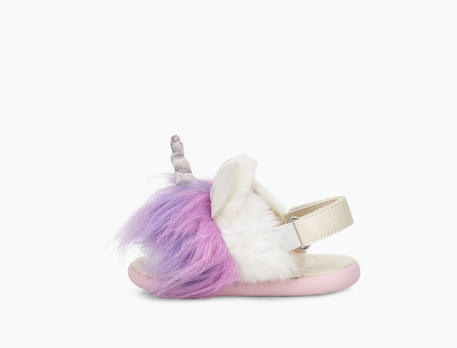 RAINBOW UNICORN SANDAL
