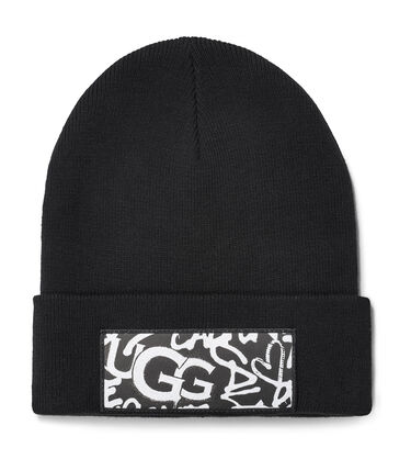 GRAFFITI PATCH CUFF HAT