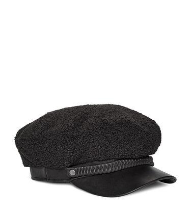 LTHR AND SHERPA BAKER HAT