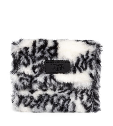 MARTHA FRENCH WALLET FAUX FUR