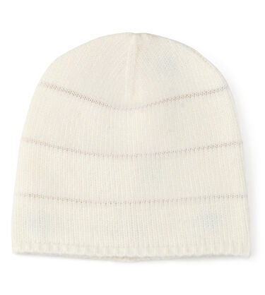 LUREX STRIPED BEANIE