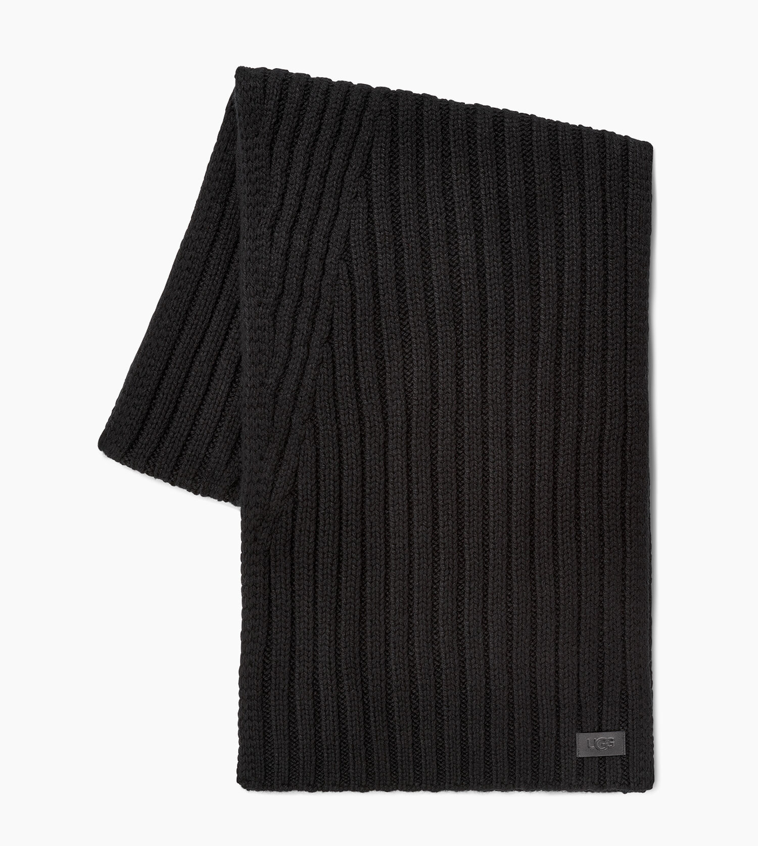 Diagonal Ribbed Stripe Scarf by Ugg