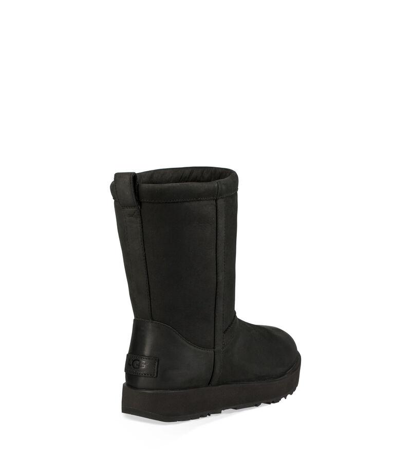 Classic Short Leather Waterproof Stivali