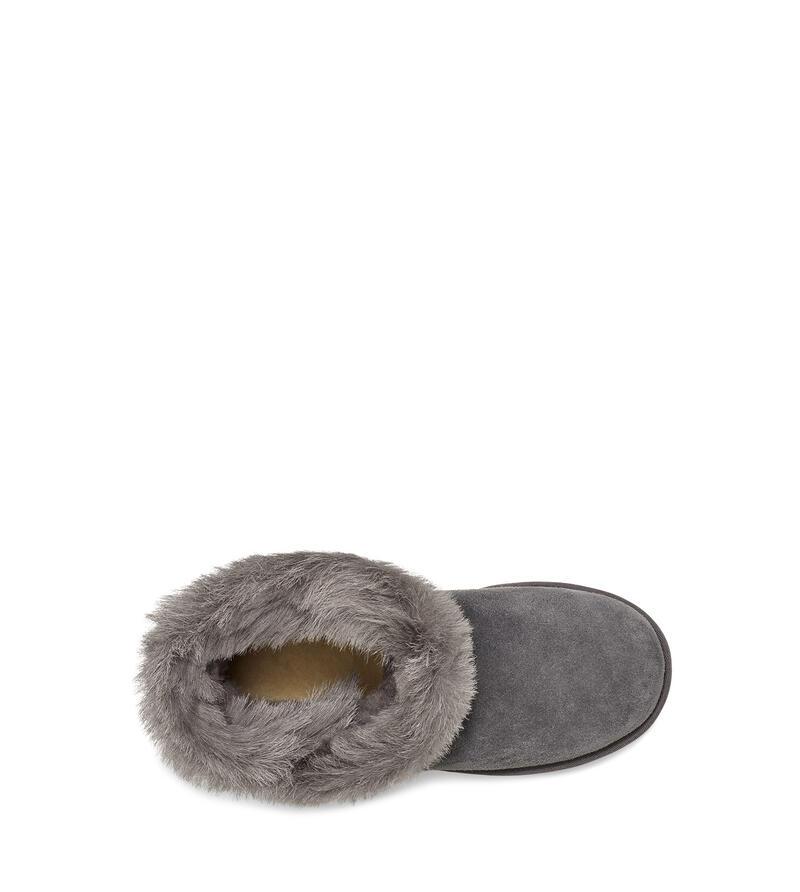 Classic Fluff Pin Mini Boot