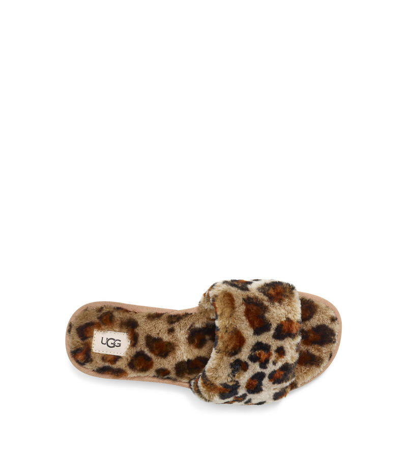 Cozette Leopard Slipper