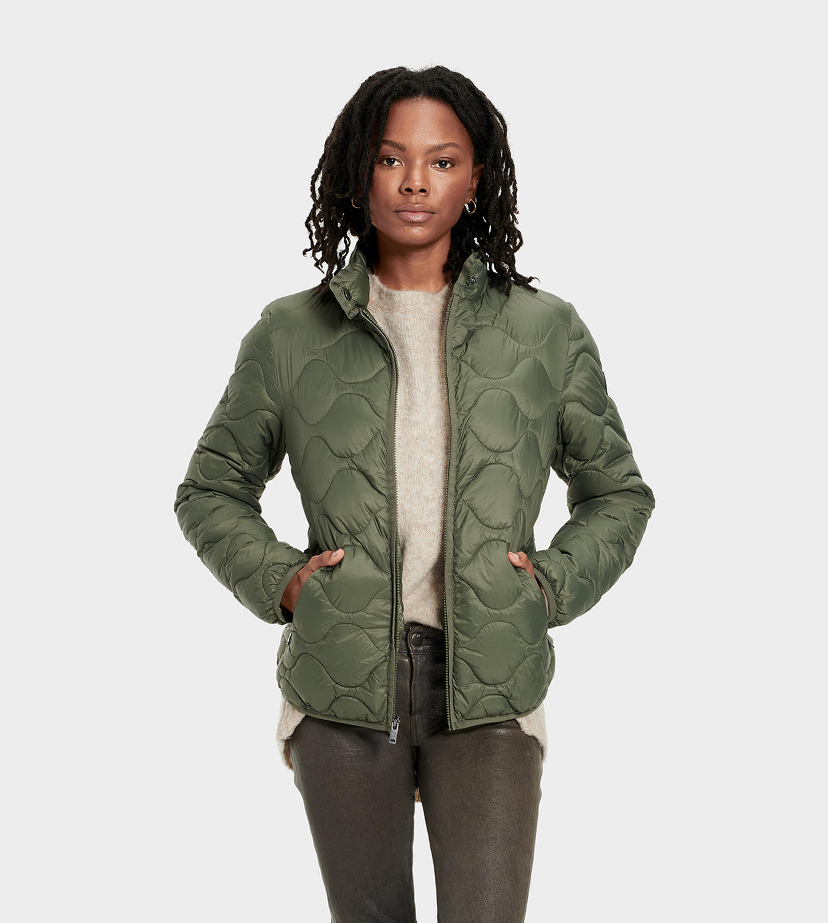 Selda Packable Quilted Jas