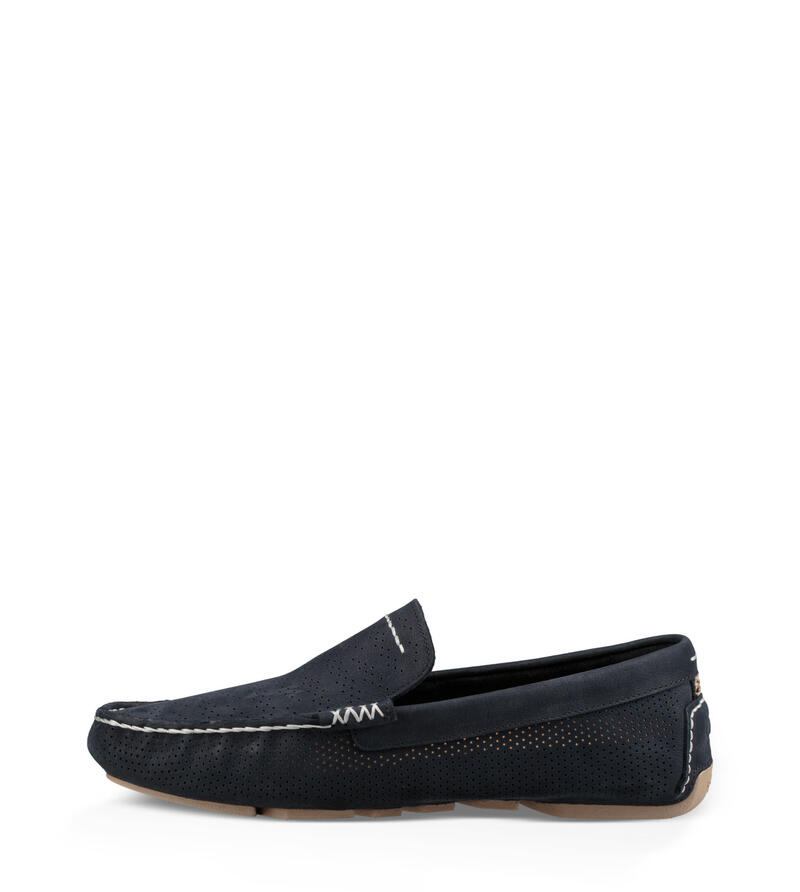 Henrick Stripe Perf Loafer