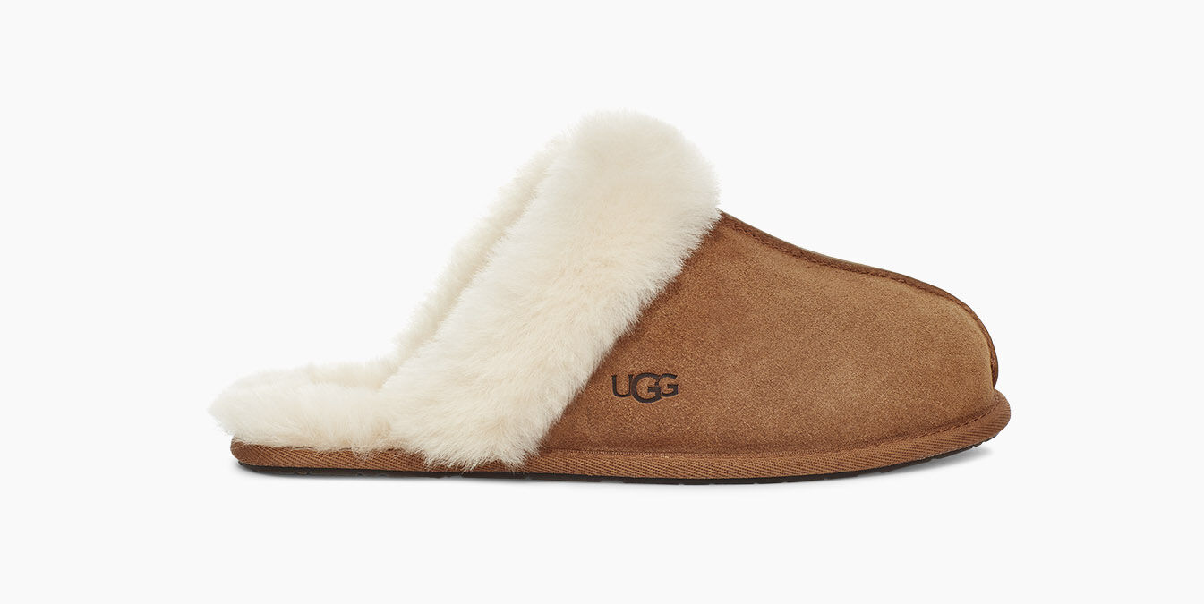 The slippers resembles the brand's official Schuffette slippers at £145