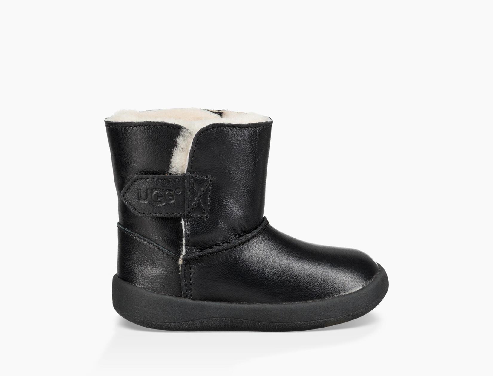 Keelan Leather Bootie