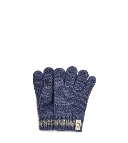 Chunky Stripe Knit Handschoenen