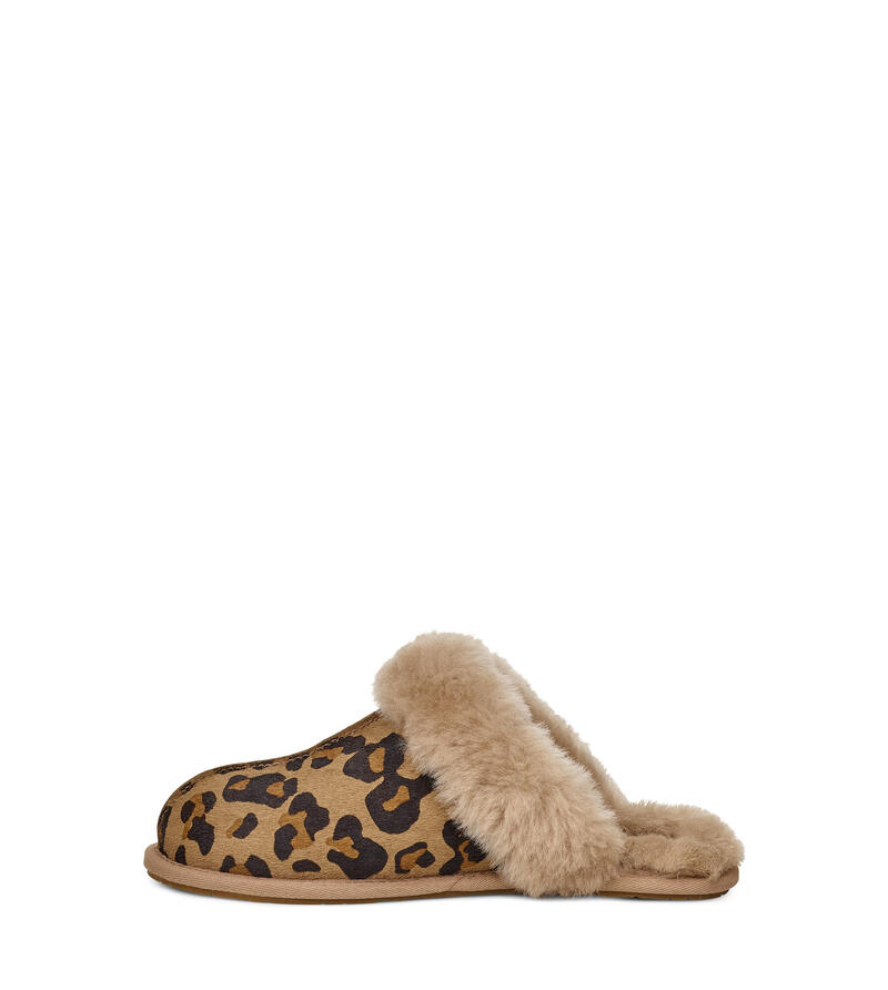 Scuffette II Leopard Slipper