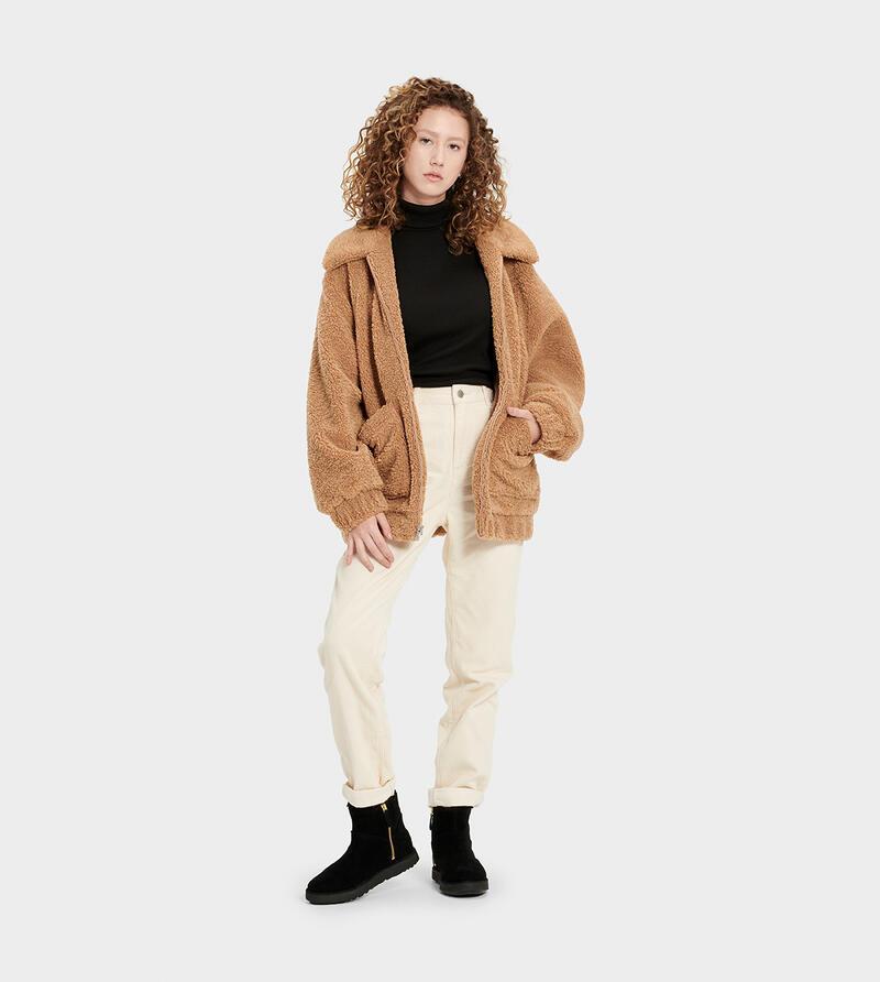 Jackeline Teddy Bear Jacket