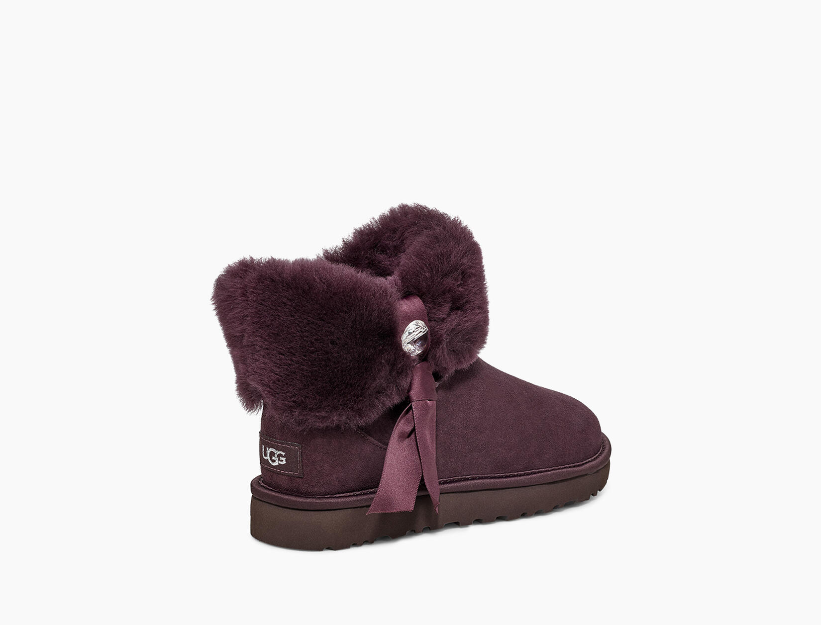Cinched Fur Mini Boot