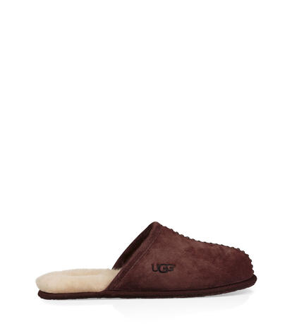 Scuff Deco Suede Chaussons
