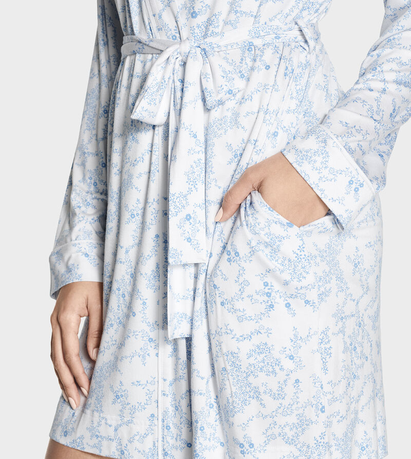 Aldridge Floral Dressing Gown