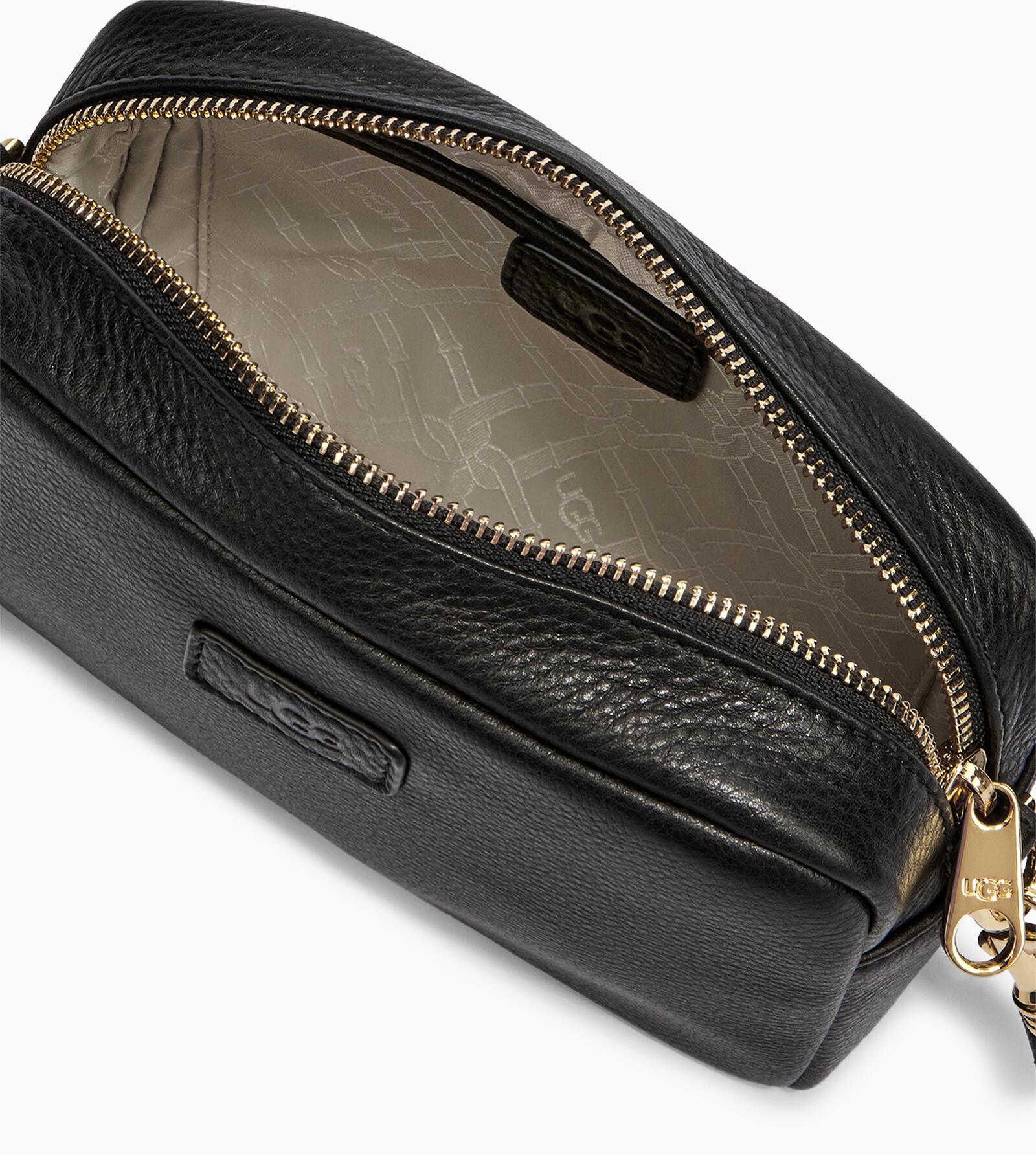 Janey II Leather Crossbody Bag
