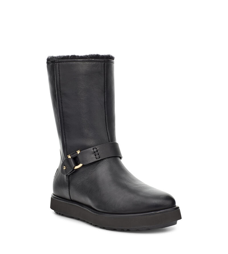 Classic Berge Short Leather Boot