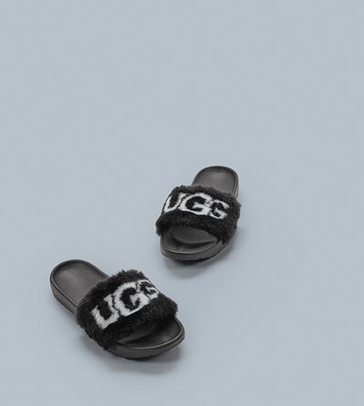Royale Graphic Slide Sandalen