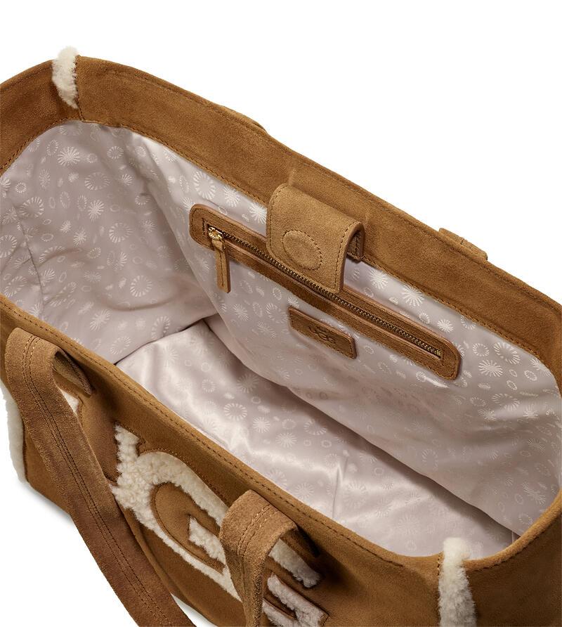 Alina Sheepskin Tote Bag