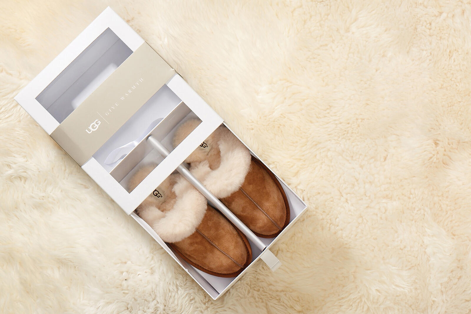 Scuffette II Slipper Gift Box