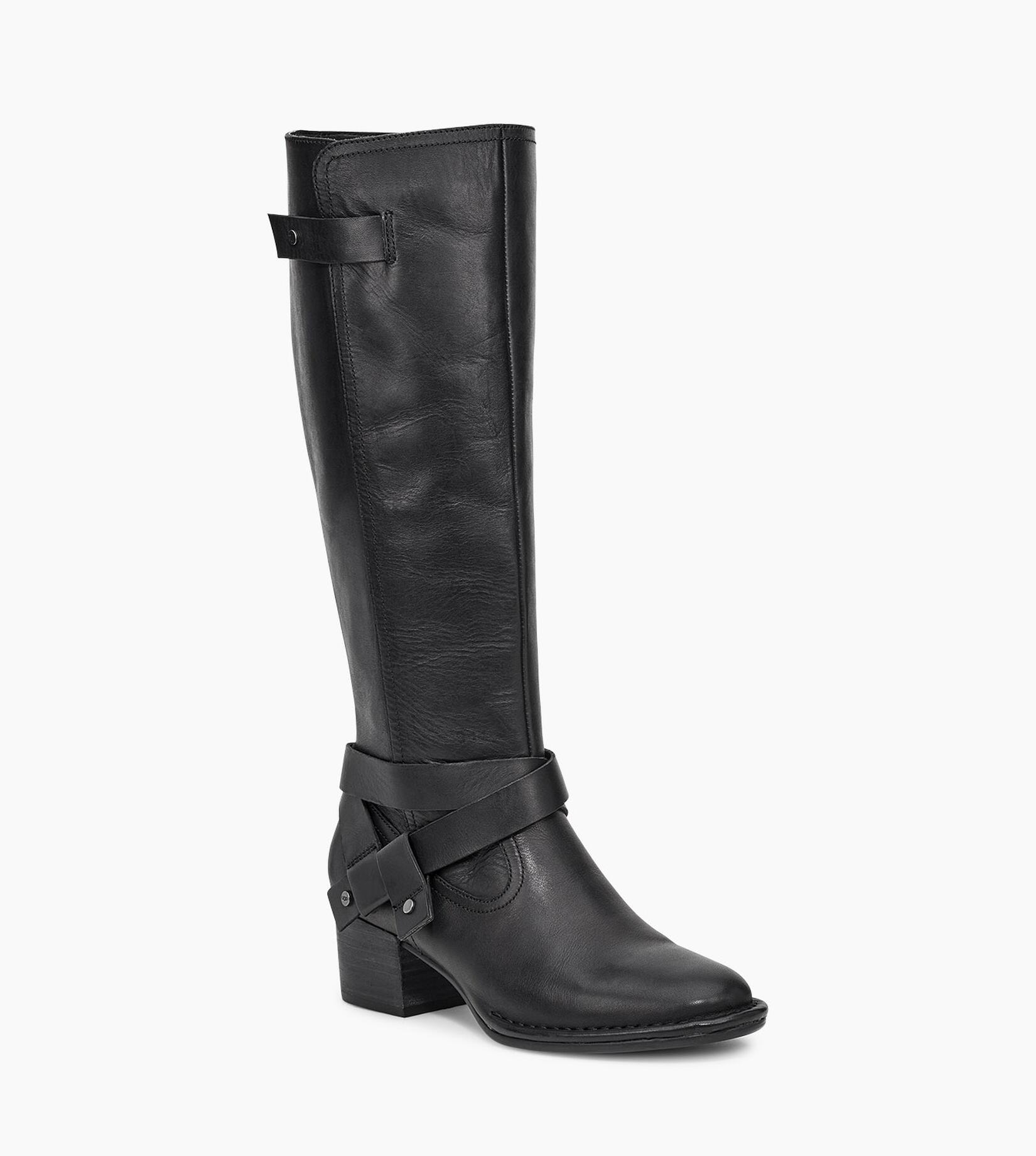 Bandara Leather Tall Boot