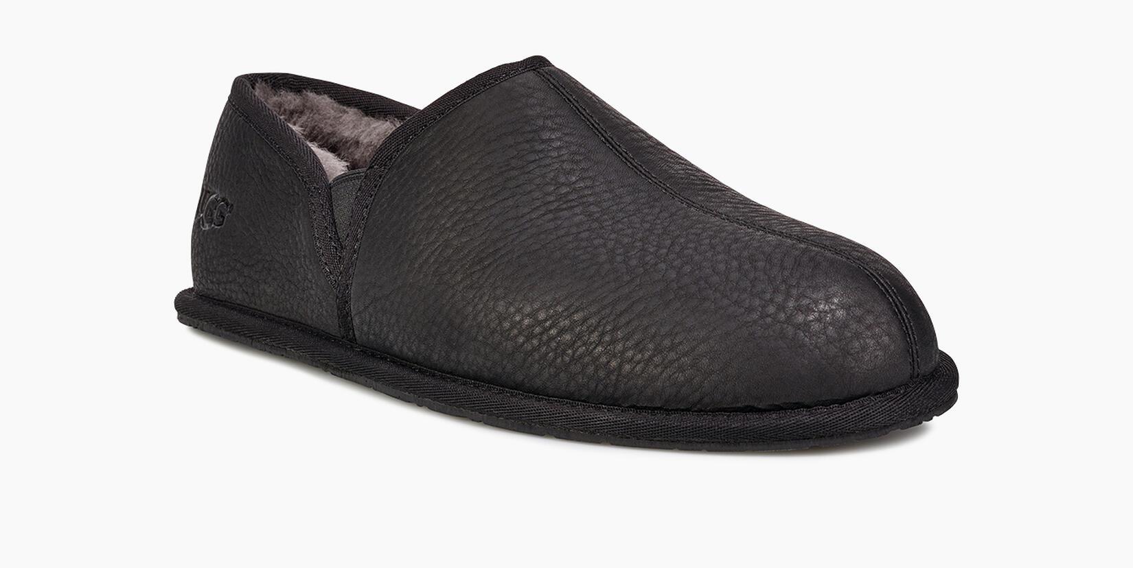 Scuff Romeo Ii Leather Slipper